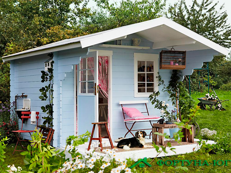 Какой дом считают садовым