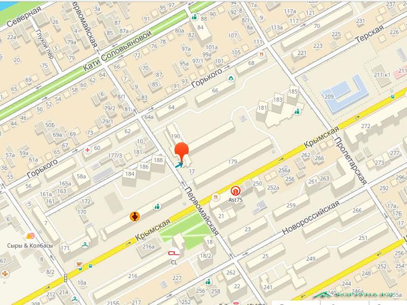 УАиГ в Анапе где находится - адрес